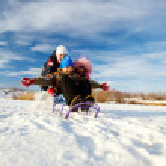 Kids in winterwear having happy time — Stock Photo #36816761