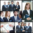 Successful businesspeople — Stock Photo