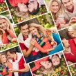 Foto Stock: Happy couple