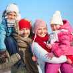 Winter family — Stock Photo #36817235