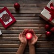 Christmas atmosphere — Stock Photo #36817937