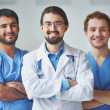Friendly doctors — Stock Photo