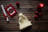 Symbols of holiday — Stock Photo