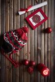 Winter symbols — Stock Photo