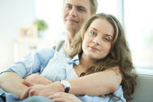 Amorous young couple — Stock Photo