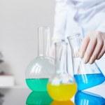 Chemical liquids — Stock Photo