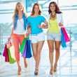 Group of shoppers — Stock Photo #36821279