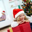 Christmas girl — Stock Photo #38916103