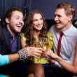 Stock Photo: Friends toasting