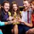 Friends toasting — Stock Photo