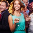 Cheerful people at party — Stock Photo
