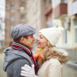 Amorous couple — Stockfoto