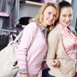 Beautiful shoppers — Stockfoto