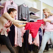 Stock Photo: Shopping violence
