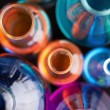 Stock Photo: Tubes with liquids
