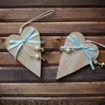 Wooden hearts — Stock Photo #40668735