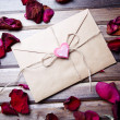 Stock Photo: Letter of love