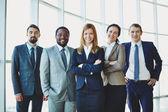 Successful partners — Stock Photo