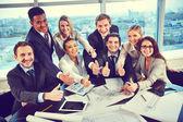 Szczęśliwy współpracowników — Zdjęcie stockowe