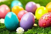 Colorful Easter eggs — Foto de Stock