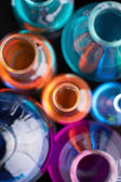 Tubes with liquids — Stock Photo