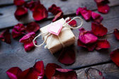Gift from heart — Stock Photo
