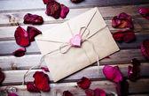 επιστολή της αγάπης — Φωτογραφία Αρχείου