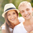 Affectionate couple — Stock Photo #40672423