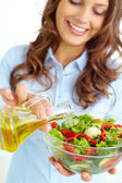 Homemade salad — Stock Photo