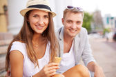 Young dates — Stock Photo