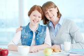 Devozione parentale — Foto Stock