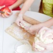 Making pastry — Stock Photo