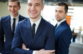 Successful employer — Stock Photo