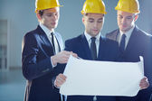Three constructors — Stock Photo