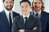 Successful businessmen — Stock Photo