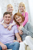Family spend time together — Stock Photo