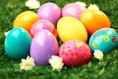 Colorful Easter background — Stock Photo