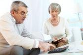 Home finances planning — Stock Photo