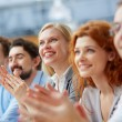 Business partners applauding — Stock Photo #46269467