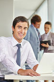 Succesful businessman  — Stock Photo