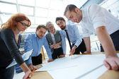 Inženýři v práci — Stock fotografie