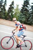 英俊的自行车 — 图库照片