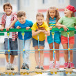 Kids on playground — Stock Photo #46322055