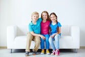 Affectionate kids  — Stock Photo