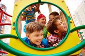 Joyful children — Stock Photo