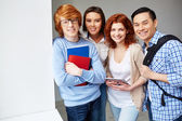 Cheerful students — Foto Stock