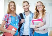 Cheerful students — Stock Photo