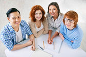 College learners — Stock Photo