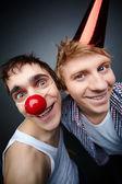 Funny guys — Stock Photo