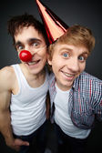 Two fools — Stock Photo